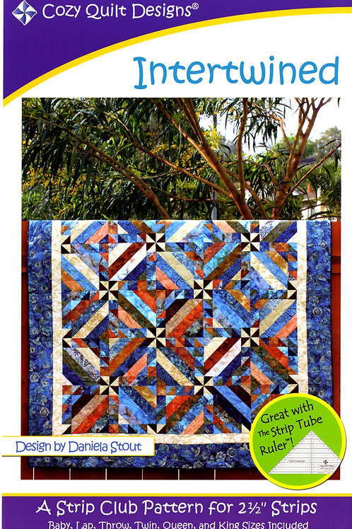 Cozy Quilt Designs Intertwined Quilt Pattern