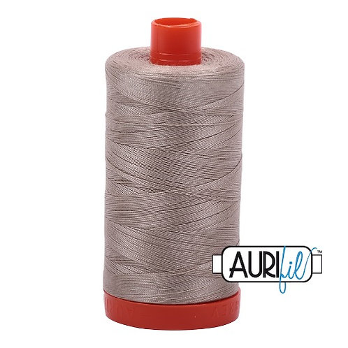 Aurifil 50 1300m 5011 Rope Beige Cotton Thread