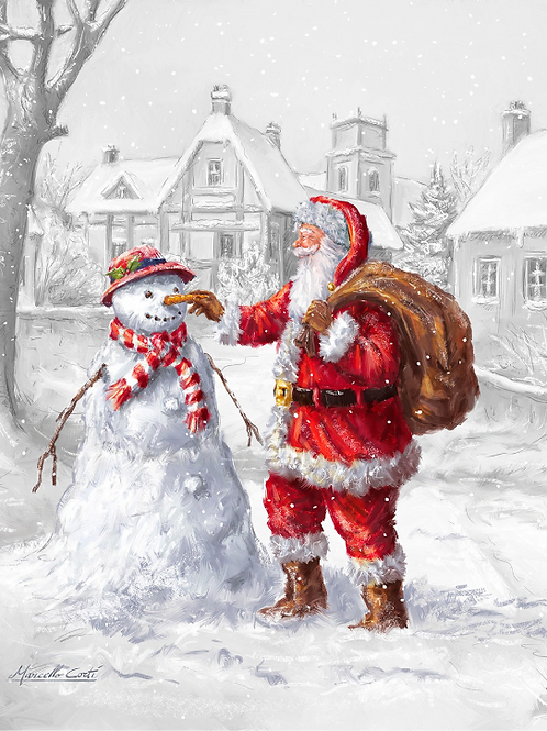 Winter Time Friend Christmas Panel