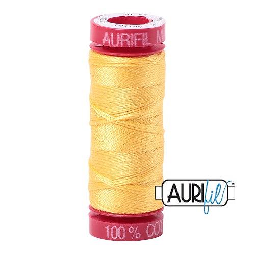 Aurifil 12 50m 1135 Pale Yellow Cotton Thread