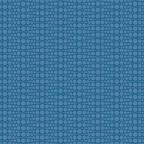 Makower Andover Blue 7487/B