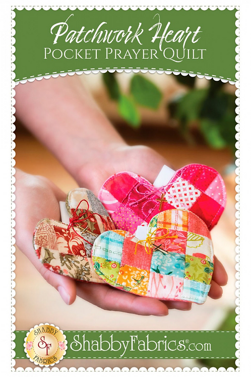 Patchwork Heart Pocket Prayer Quilt Pattern