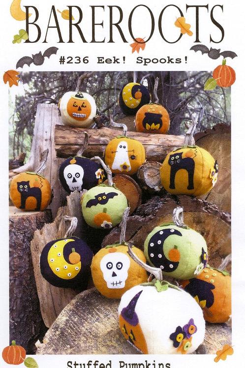 Bareroots Eek! Spooks! Stuffed Pumpkins Pattern