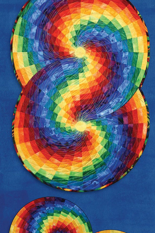Bargello Colour Wheel with Template