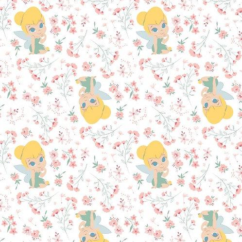 Disney Tinker Bell Neverland Gardens Fabric