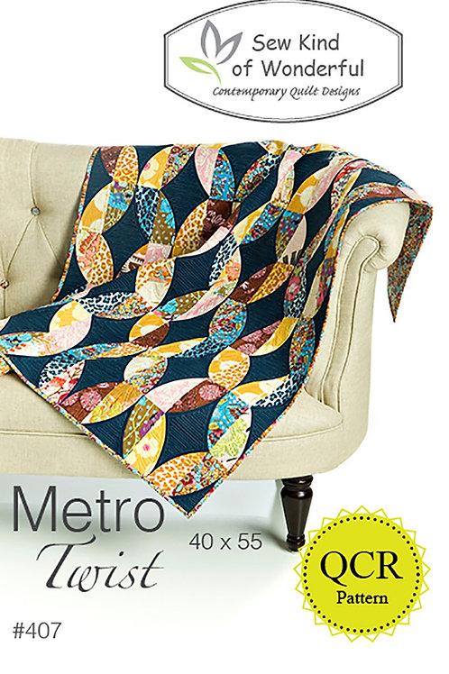 Metro Twist Quilt Pattern