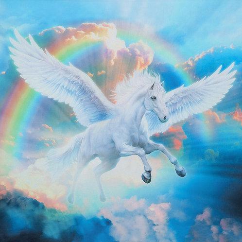 Rainbow Pegasus Digitally Printed Panel 36in
