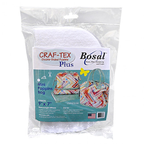Bosal Craft Tex Mini Poppins Bag Bases x 2