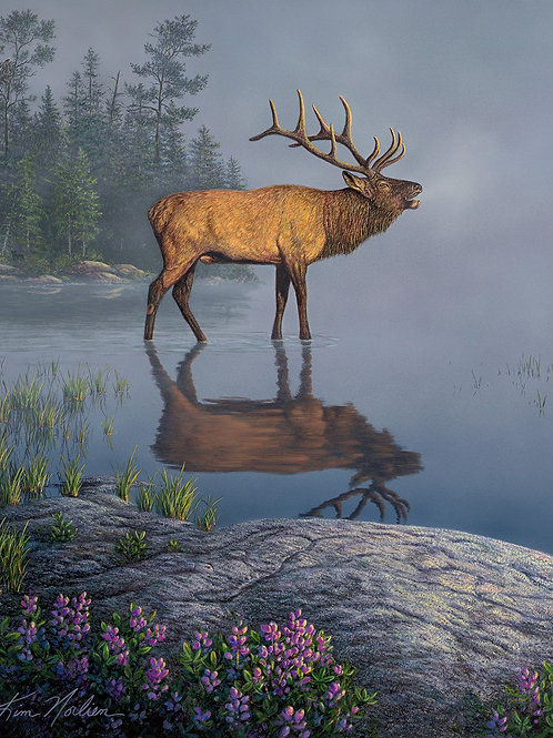 Natures Finest Elk Fabric Panel