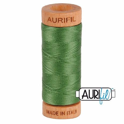 Aurifil 80 280m 2890 Very Dark Green Grass Cotton Thread