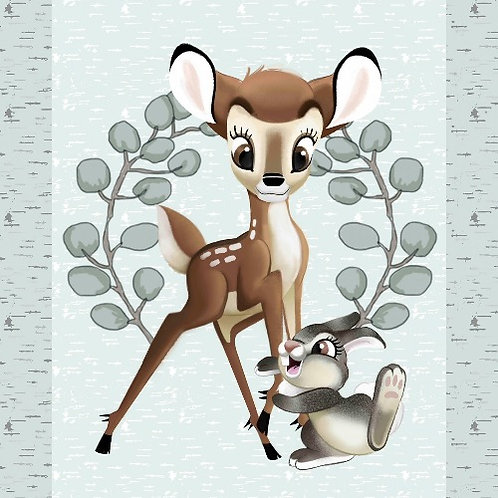 Disney Bambi and Thumper Panel