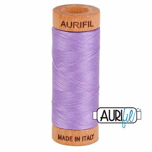 Aurifil 80 280m 2520 Violet Cotton Thread