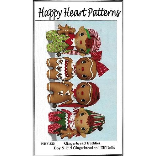 Gingerbread Buddies Pattern