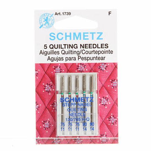 Schmetz Quilting Needles size 75/90