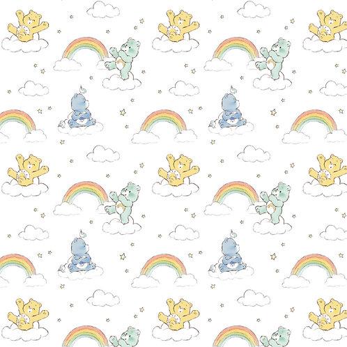Care Bears Rainbow Bears Fabric