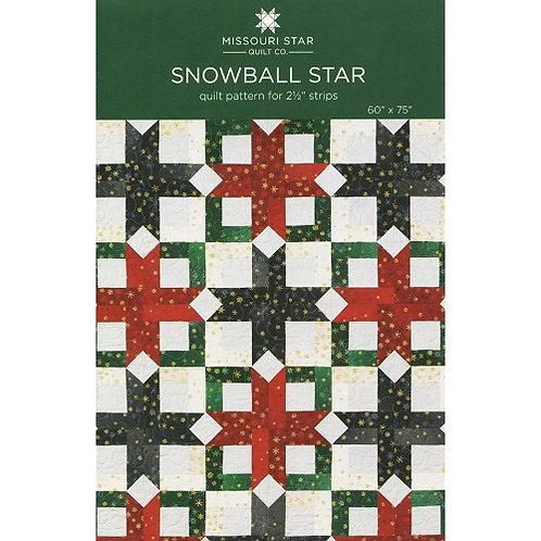 Missouri Star Snowball Star Quilt Pattern