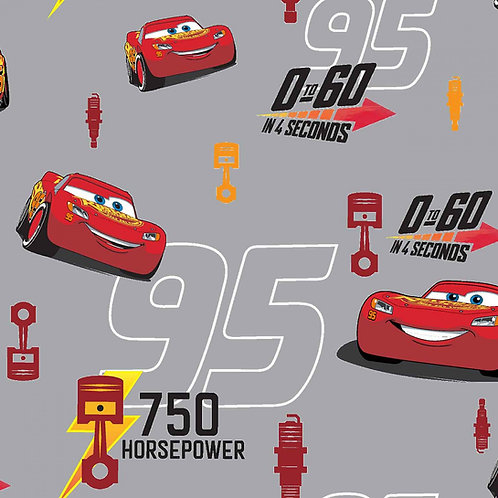 Disney Cars Lightning McQueen Fabric
