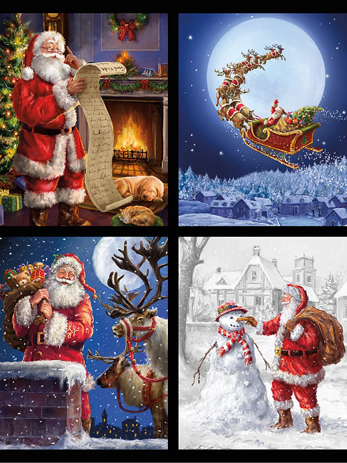 Christmas Pillow Panel