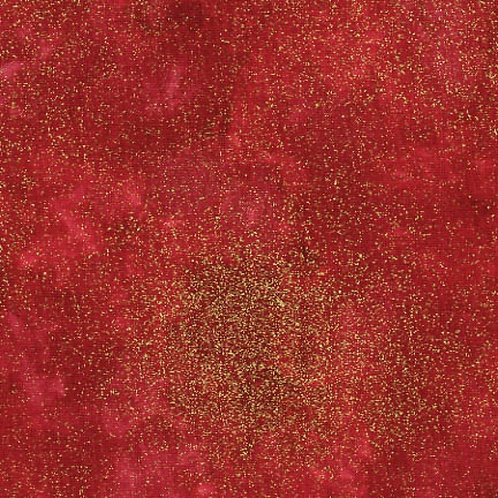 Timeless Treasures Shimmer Red Metallic Fabric
