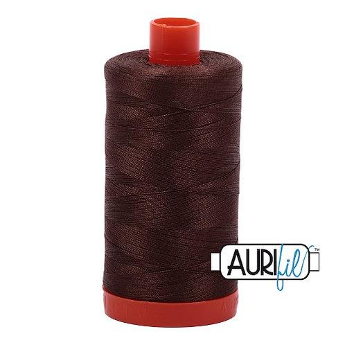Aurifil 50 1300m 1285 Medium Bark Cotton Thread