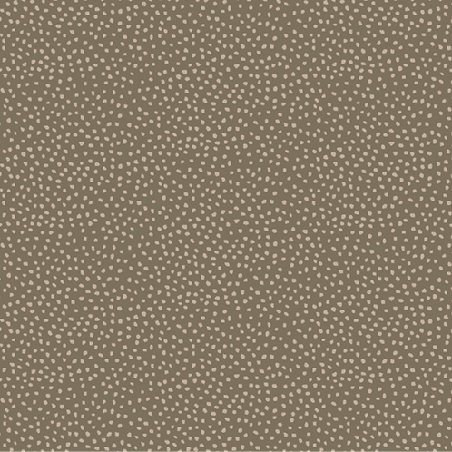 Anni Downs All For Christmas Brown Dots Fabric