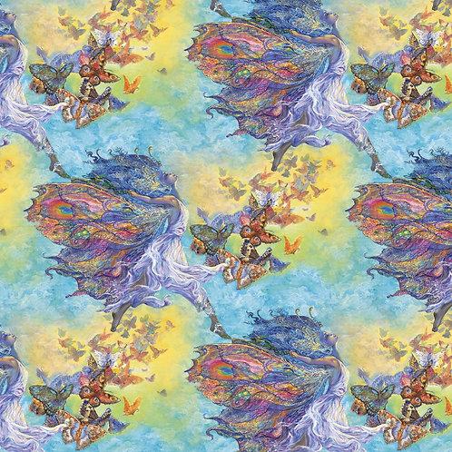 Wings Of Joy Butterfly Girl Fabric