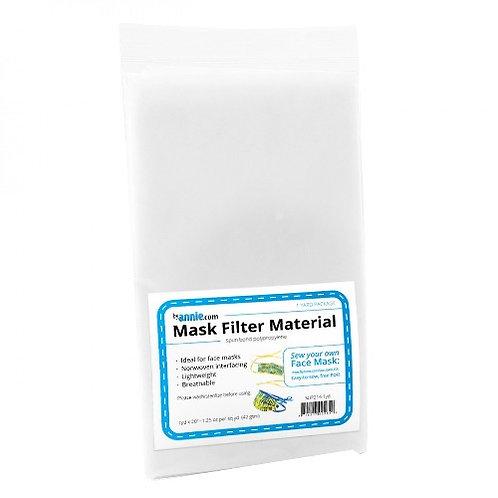 Mask Filter Material 1 Yard