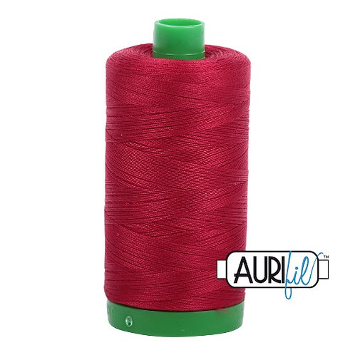 Aurifil 40 1000m 2260 Red Wine Cotton Thread