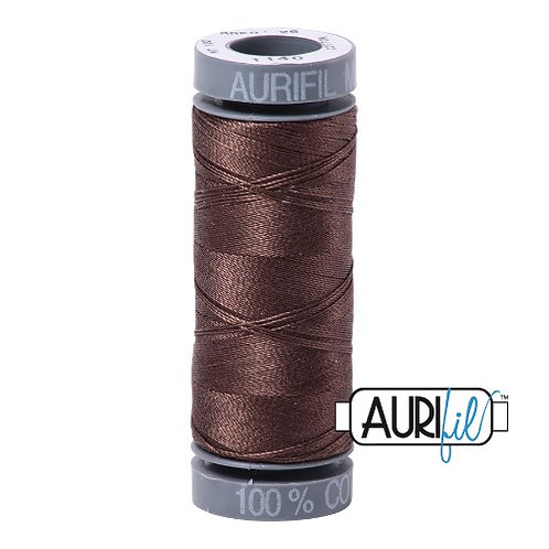 Aurifil 28 100m 1140 Bark Cotton Thread