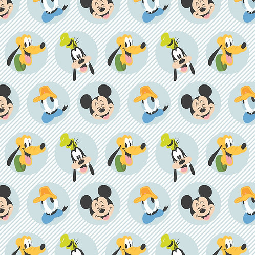 Disney Mickey Mouse Best Pals Fabric