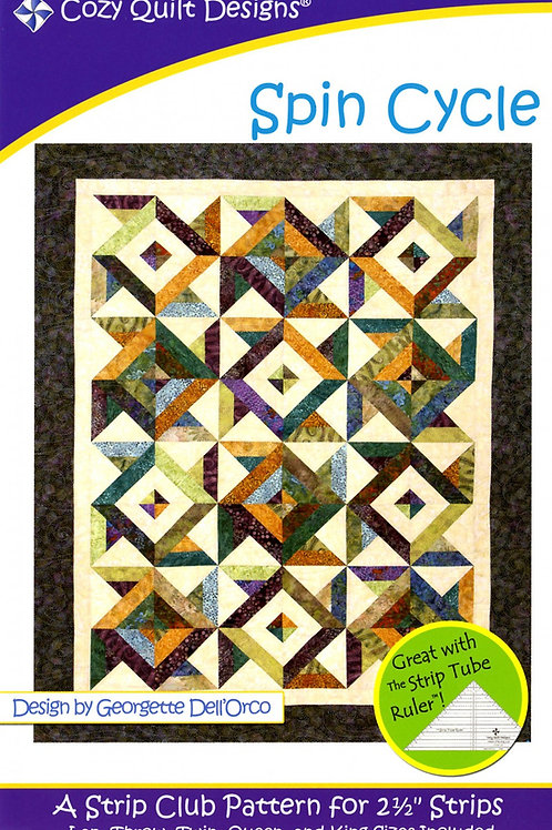 Cozy Quilt Designs Spin Cycle Quilt Pattern