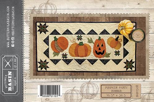 Pumpkin Party Table Runner Pattern