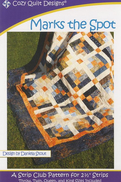 Cozy Quilt Designs Marks the Spot Quilt Pattern