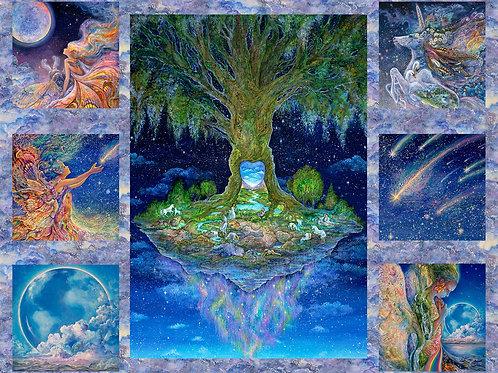 Celestial Journey Tree Panel