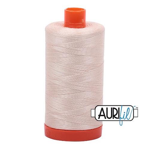 Aurifil 50 1300m 2000 Light Sand Cotton Thread