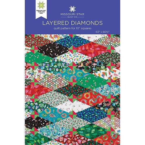 Missouri Star Layered Diamonds Pattern