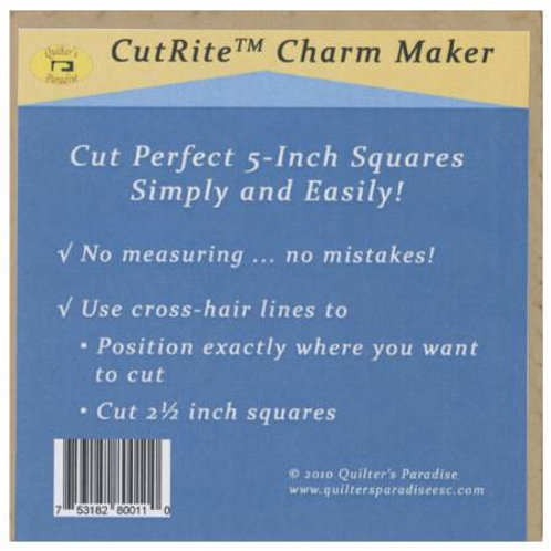 "CutRite Charm Maker 5"" Square Template"