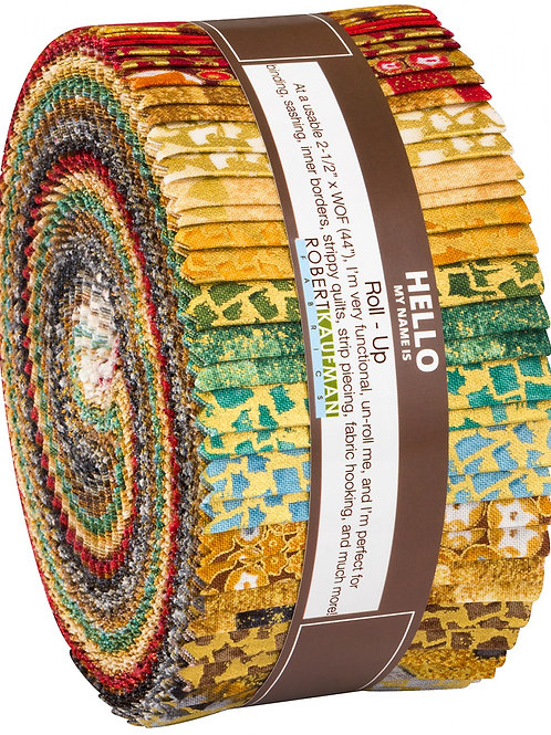 Robert Kaufman Gustav Klimt Complete Collection Roll Up with Metallic