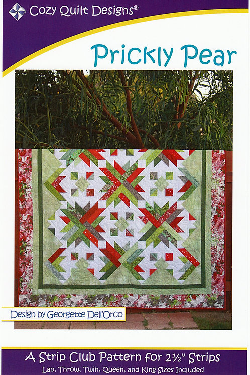 Cozy Quilt Designs Prickly Pear Quilt Pattern