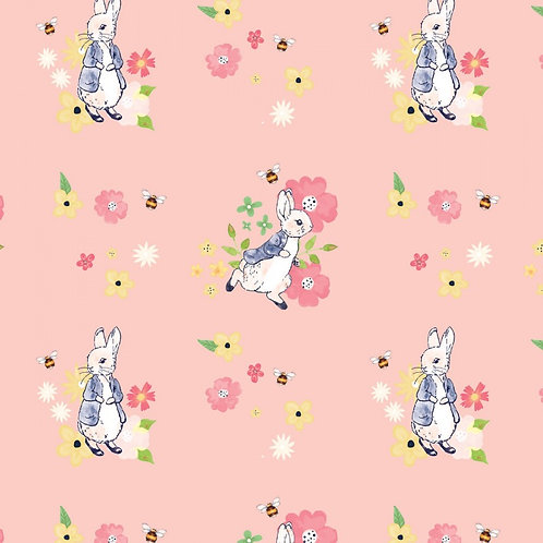 Peter Rabbit Floral Bee Fabric