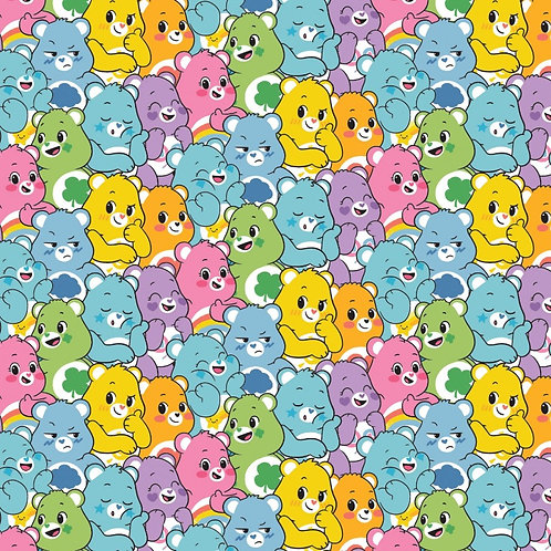 Care Bears Believers Fabric
