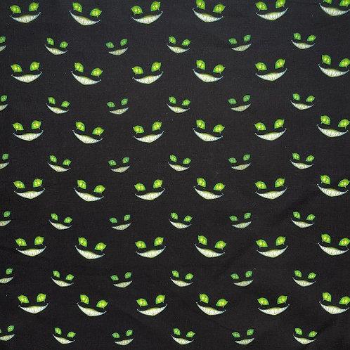 Cheshire Cat Green Fabric