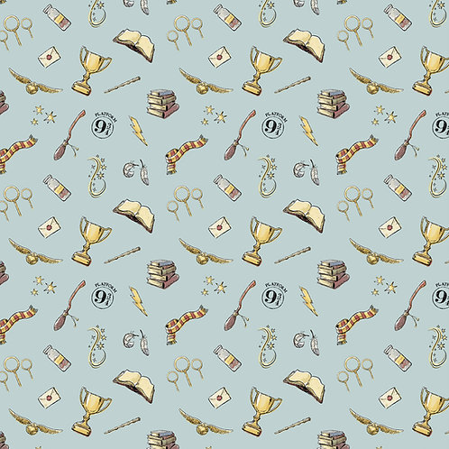 Harry Potter Magic Fabric - Blue