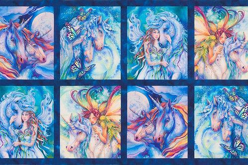 Wild Morningmoon Unicorns Panel