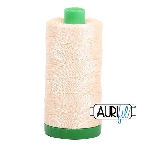 Aurifil 40 1000m 2123 Butter Cotton Thread