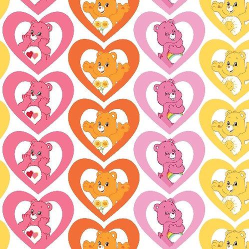 Care Bears Warm Hearts Fabric
