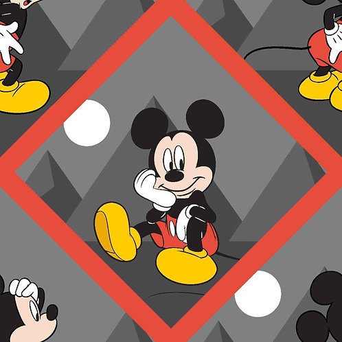 Disney Mickey Mouse Tile Fabric