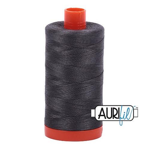 Aurifil 50 1300m 2630 Dark Pewter Cotton Thread