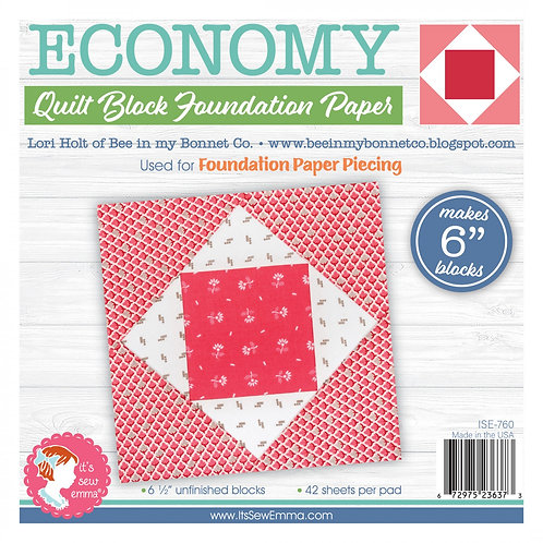Economy Quilt Block 6in Foundation Paper Pad