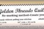 Golden Threads Quilting Paper 12in - 20yds
